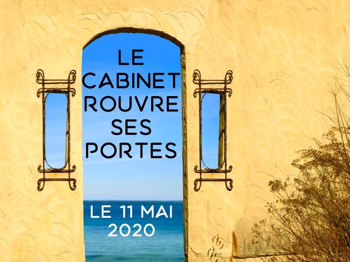 Réouverture le 11 Mai 2020